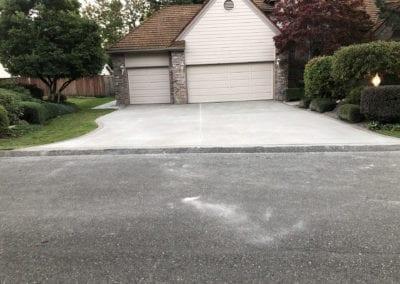 driveway finish halmark
