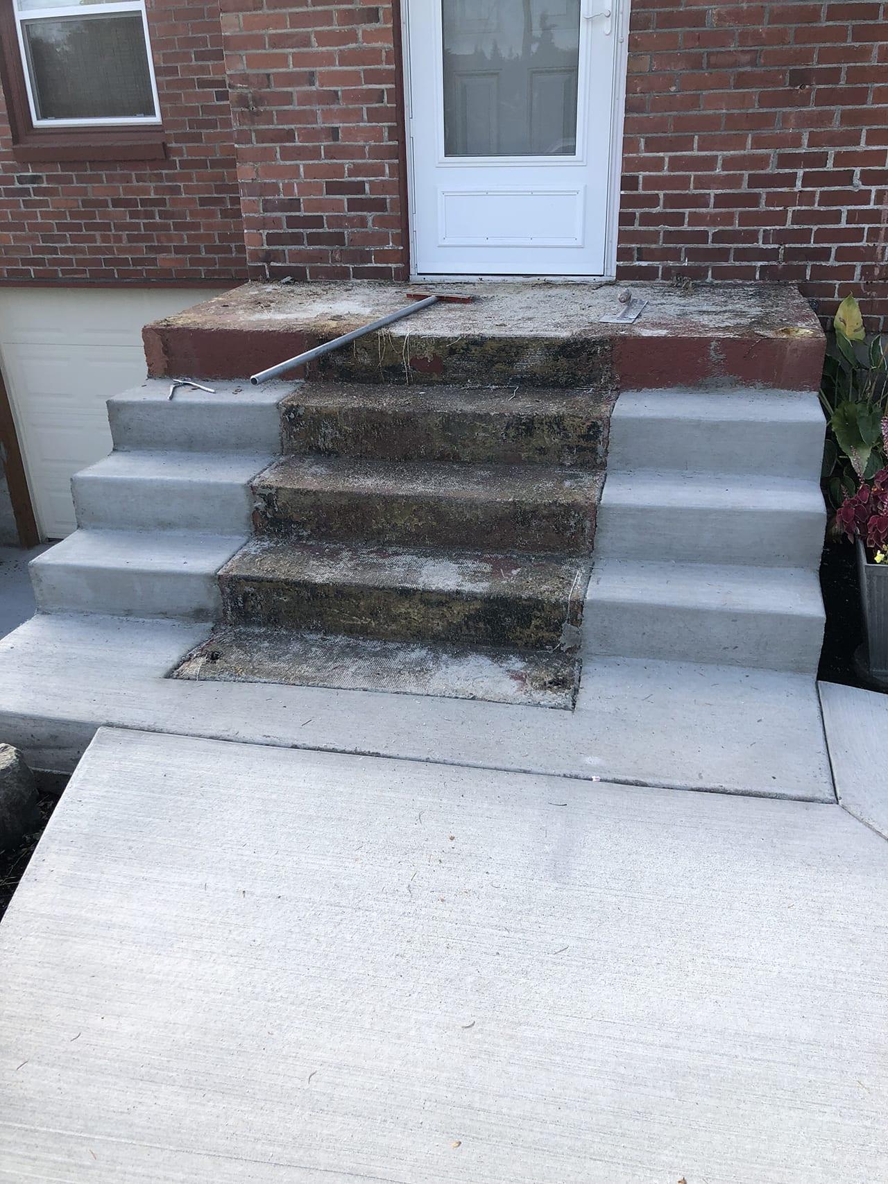 stairway resurfacing